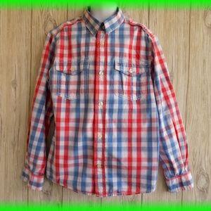 Tommy Hilfiger  Button Down Shirt Size 8-10